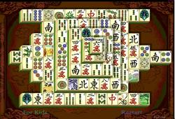 shanghai dynasty mahjongg solitaire puzzle game