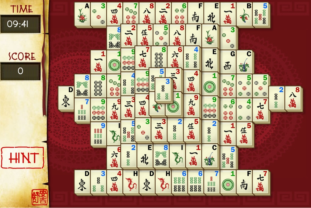 freeware mahjong games